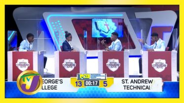 St. George's College vs St. Andrew Technical: TVJ SCQ 2021 - January 20 2021 10
