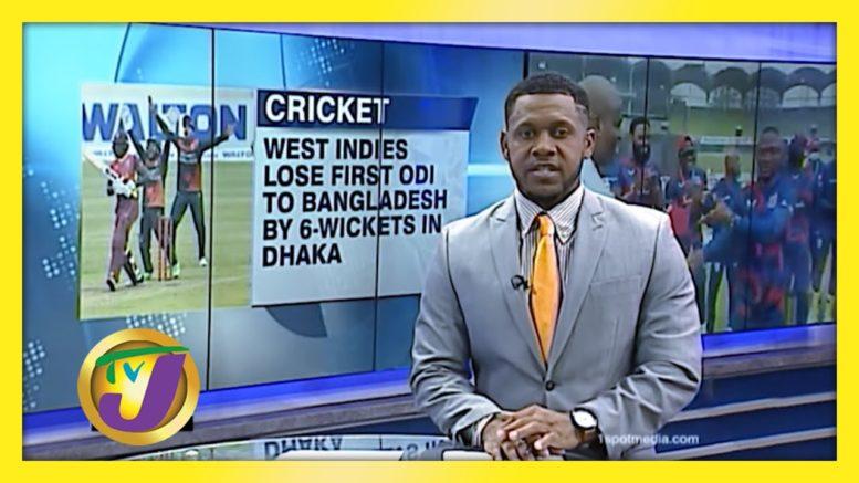 W.I. Lose 1st ODI to Bangladesh by 6 Wickets - January 20 2021 1