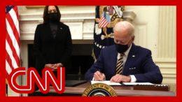 Biden zeroes in on the teetering economy in first week 2