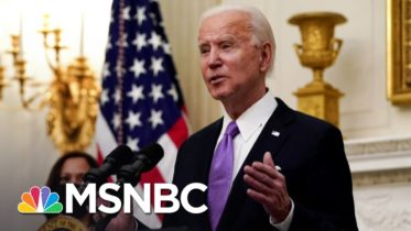 Biden Reveals Covid Plan One Year After Virus Was Found In U.S. | The 11th Hour | MSNBC 6