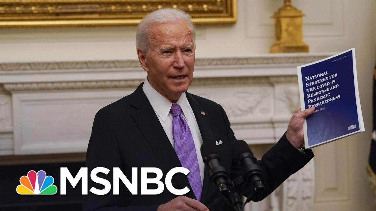 Trump Admin Governing Incompetence Leaves Low Hanging Fruit For Biden Team | Rachel Maddow | MSNBC 3