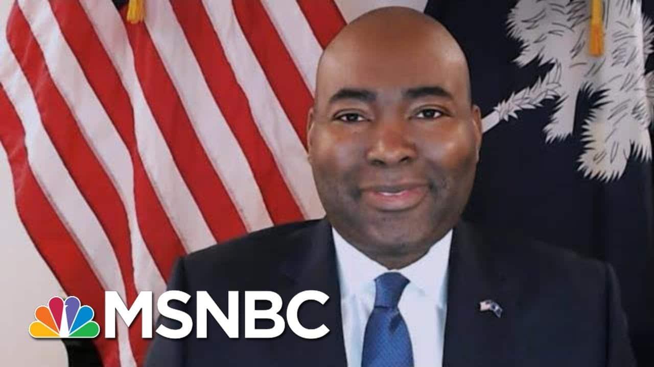 Jaime Harrison: 'Organize, Organize, Organize' Will Be The Dems' Strategy   Morning Joe   MSNBC 1