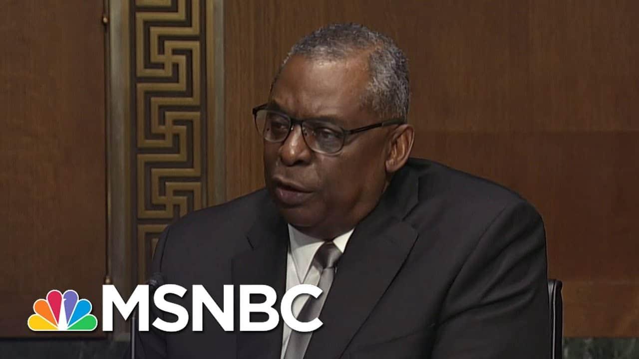 Senate Votes To Confirm Retired Gen. Lloyd Austin As Secretary Of Defense   Craig Melvin   MSNBC 8