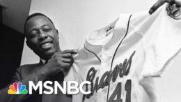 Baseball Icon Hank Aaron Dies At 86 | Craig Melvin | MSNBC 1