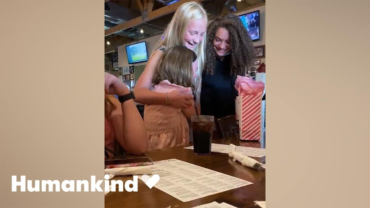 Teen's prayers answered when her best friends show up | Humankind 1