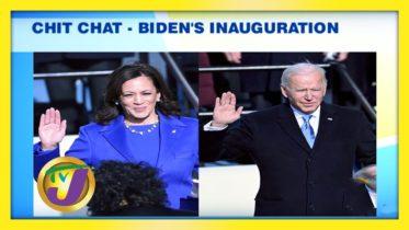 Chit Chat - Biden's & Harris Inauguration: TVJ Smile Jamaica - January 21 2021 6
