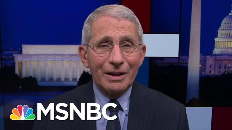 'Science Was Distorted & Rejected': Dr. Fauci On Working With Trump Admin | Rachel Maddow | MSNBC 1