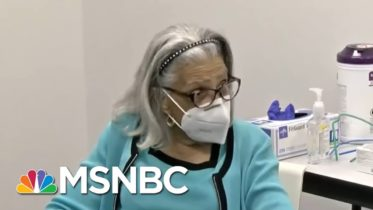 Excitement, Peace Of Mind As Vaccine Reaches Vulnerable Americans | Rachel Maddow | MSNBC 6