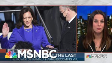 The glass Ceiling Shattered By Vice President Kamala Harris | MSNBC 6