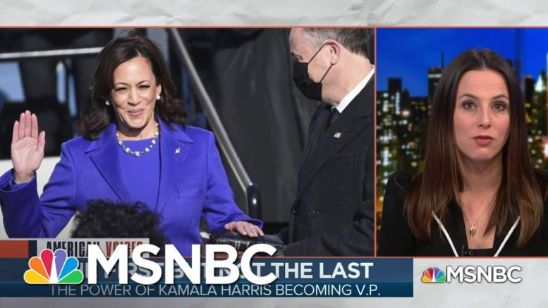 The glass Ceiling Shattered By Vice President Kamala Harris   MSNBC 1