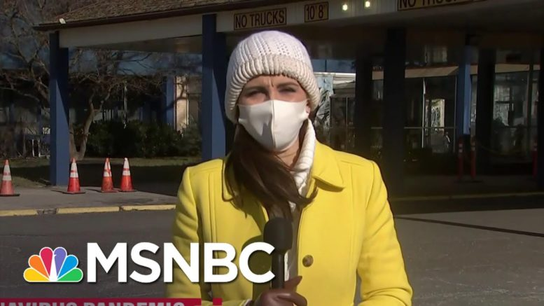 States Struggle To Keep Up With Vaccine Demand | MSNBC 1