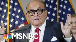 Dominion Voting Systems Sues Rudy Giuliani Over False Election Claims | Morning Joe | MSNBC 9