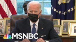 Biden Signs Order Repealing Transgender Military Ban | MSNBC 7