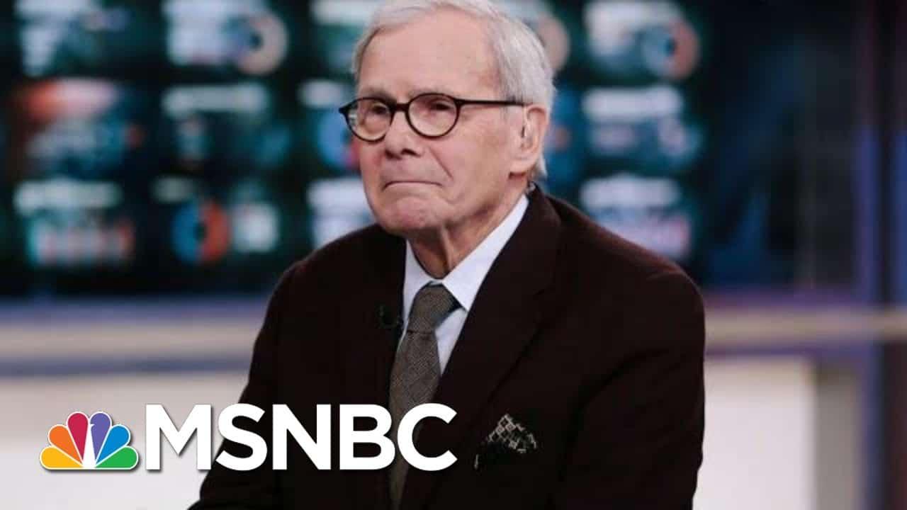 Tom Brokaw Retires After 55 Years At NBC News | Morning Joe | MSNBC 6
