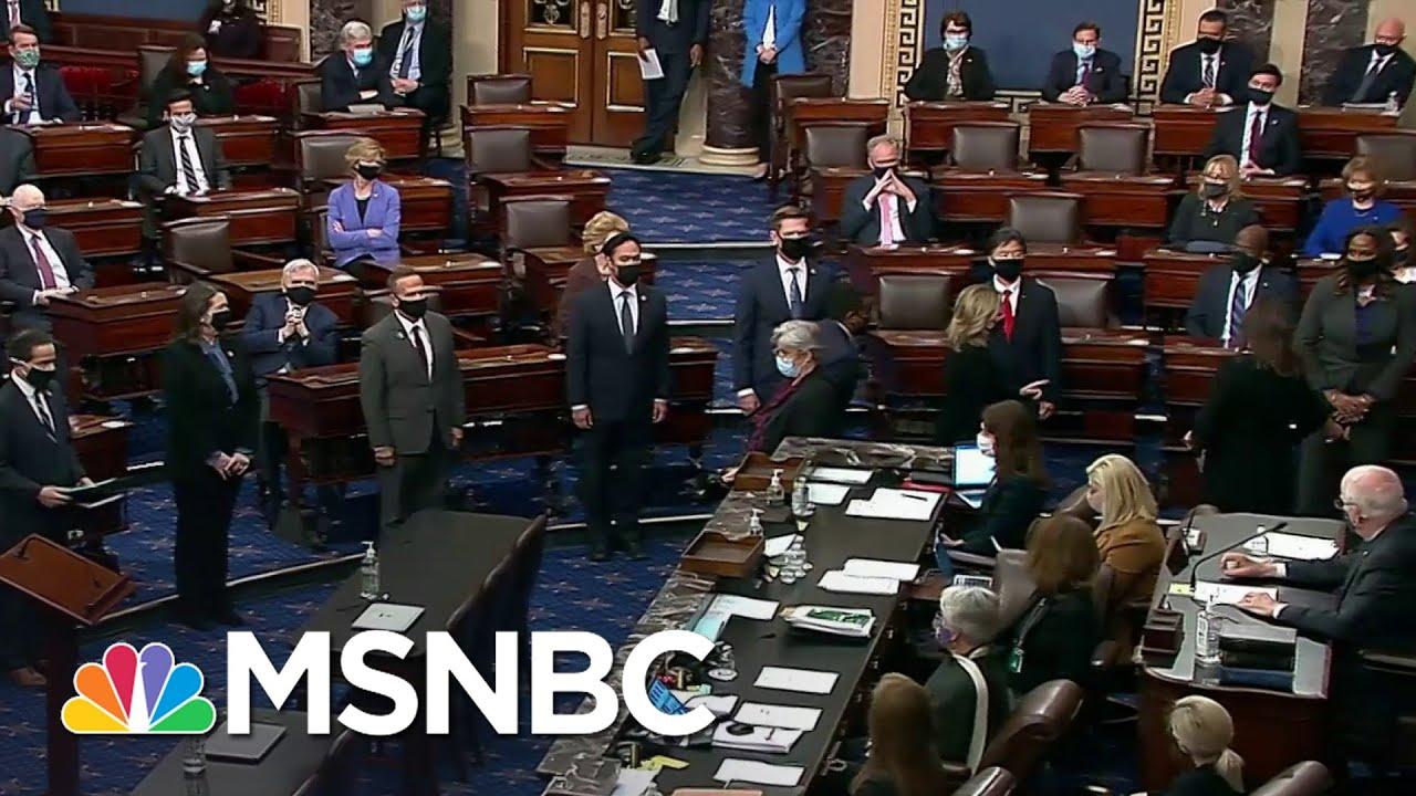 House Delivers Impeachment Article Against Trump To Senate | The ReidOut | MSNBC 3
