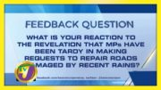 TVJ News: Feedback Question - January 22 2021 4