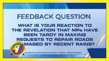TVJ News: Feedback Question - January 22 2021 6