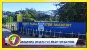 Quarantine Orders for Hampton School in Jamaica - January 23 2021 4