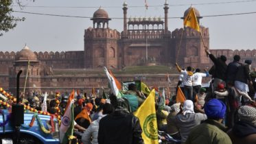 'Tractor rally' takes protest over farm law to New Delhi 6