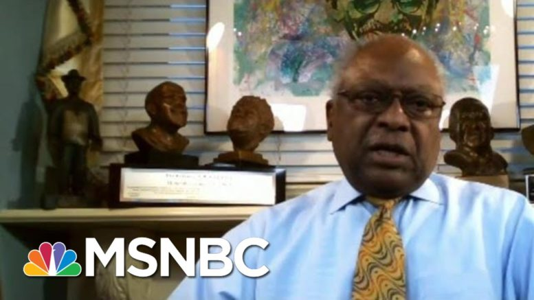 Clyburn: We Don't Want Biden Inauguration To A Super Spreader Event | Morning Joe | MSNBC 1