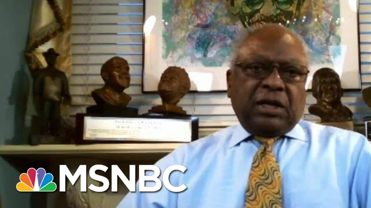Clyburn: We Don't Want Biden Inauguration To A Super Spreader Event | Morning Joe | MSNBC 7