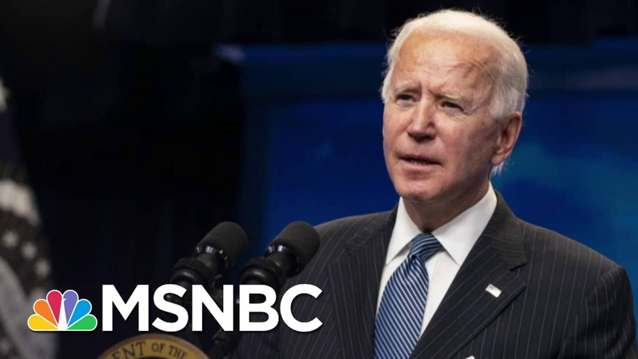 Biden Pushes On With Agenda Ahead Of Trump Impeachment Trial | The 11th Hour | MSNBC 2