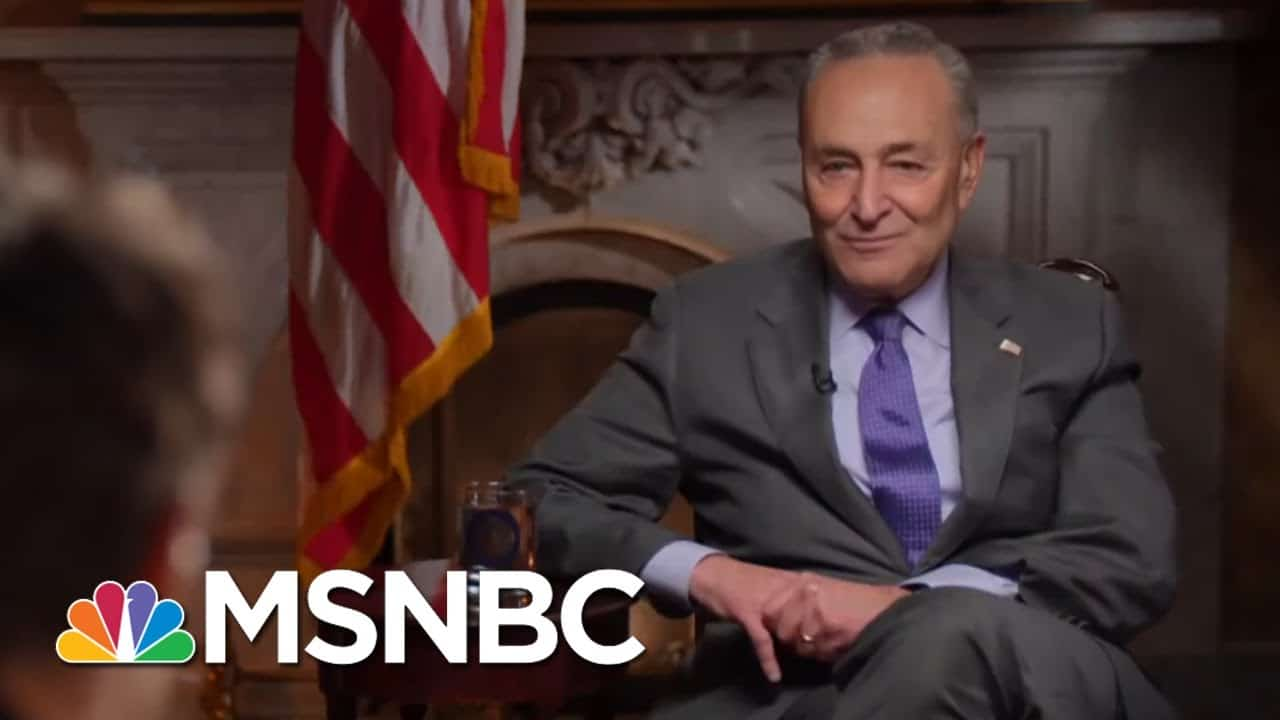 Schumer Considering Expanding Judiciary To Balance Courts Packed By McConnell | Rachel Maddow 9