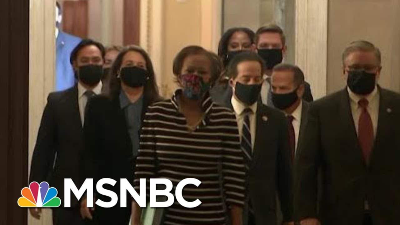 House Delivers Impeachment Article; Senators To Swear In As Jurors | Morning Joe | MSNBC 3