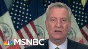 De Blasio: Vaccine Shortage Keeps NYC From Having Mass Vaccinations | Morning Joe | MSNBC 4