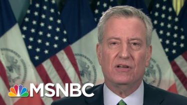 De Blasio: Vaccine Shortage Keeps NYC From Having Mass Vaccinations | Morning Joe | MSNBC 10