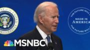 The Importance Of Biden Addressing Equity In America | Stephanie Ruhle | MSNBC 4
