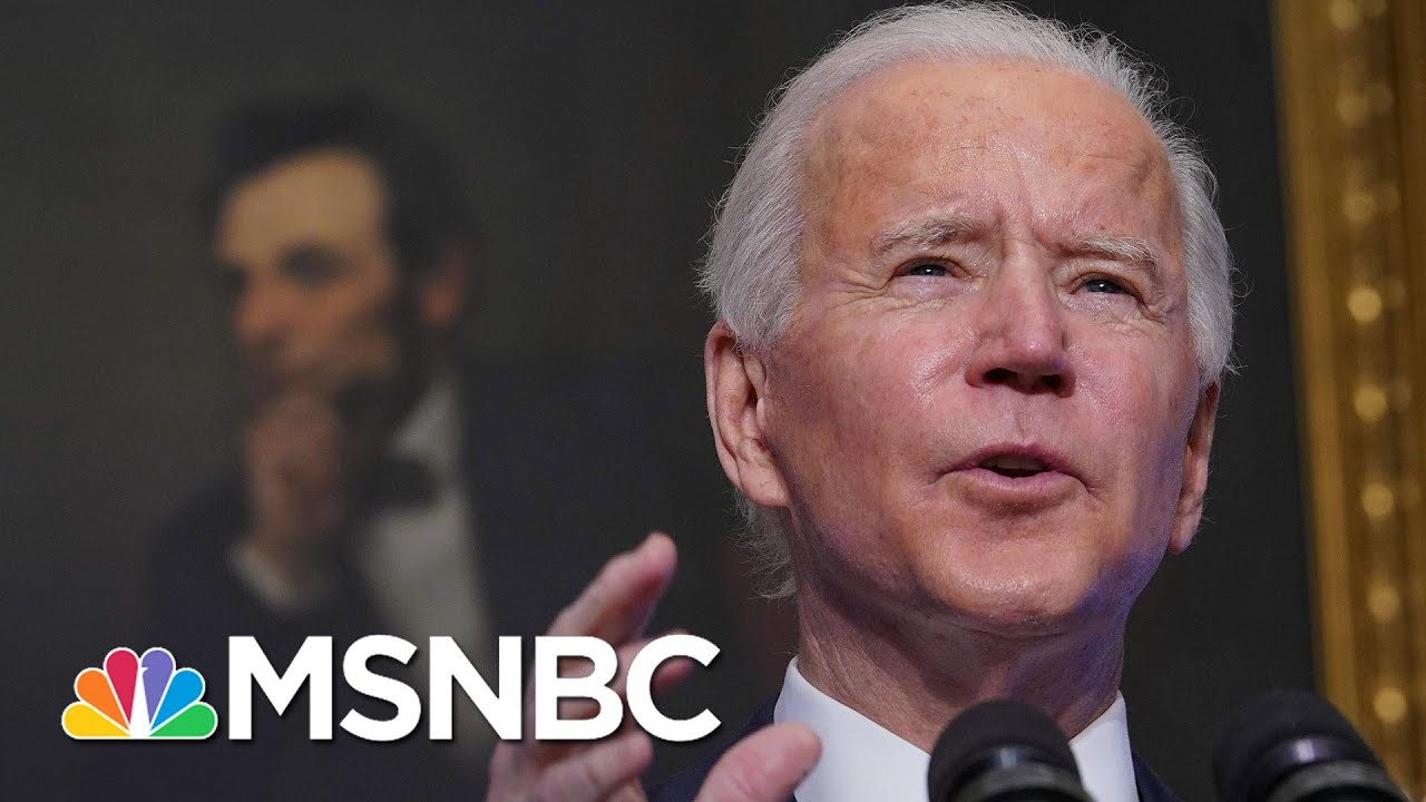 Biden Orders 200 Million Additional Doses Of Covid-19 Vaccine To Be Delivered By Summer   MSNBC 3