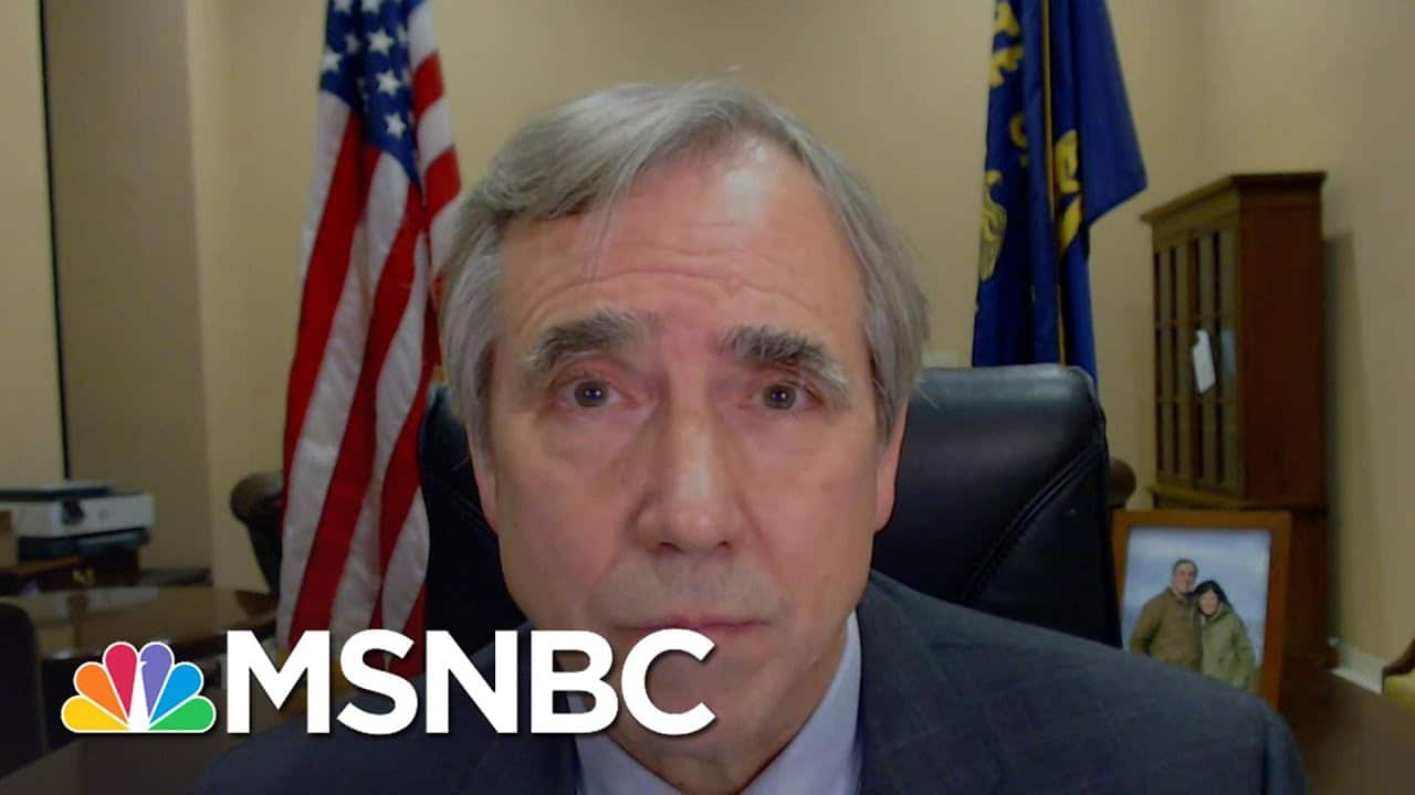 Jeff Merkley: We Need To Send A Message To Future Leaders By Convicting Trump | Deadline | MSNBC 2