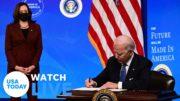 President Joe Biden outlines his racial equity agenda | USA TODAY 4