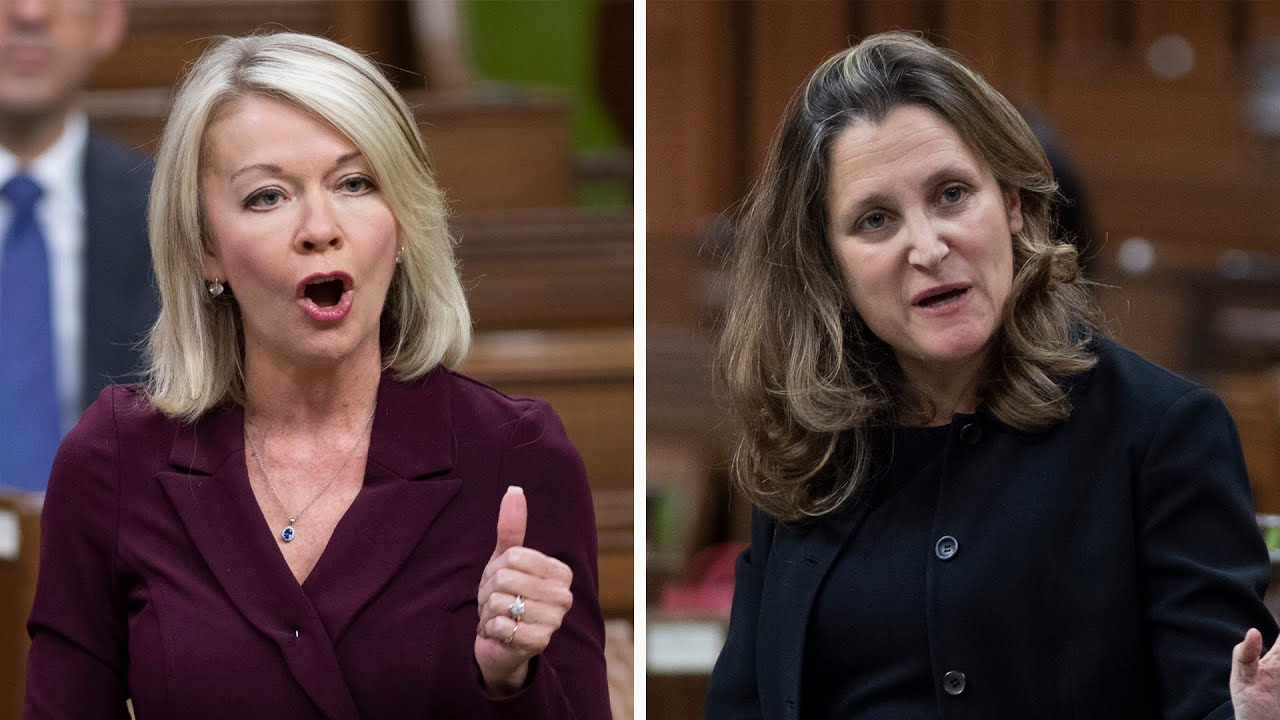 Freeland, Bergen face off over Canada's vaccination rollout 5