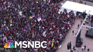 Pro-Trump Rallies Begin In DC Ahead Of Certification Of Biden Win | MTP Daily | MSNBC 6