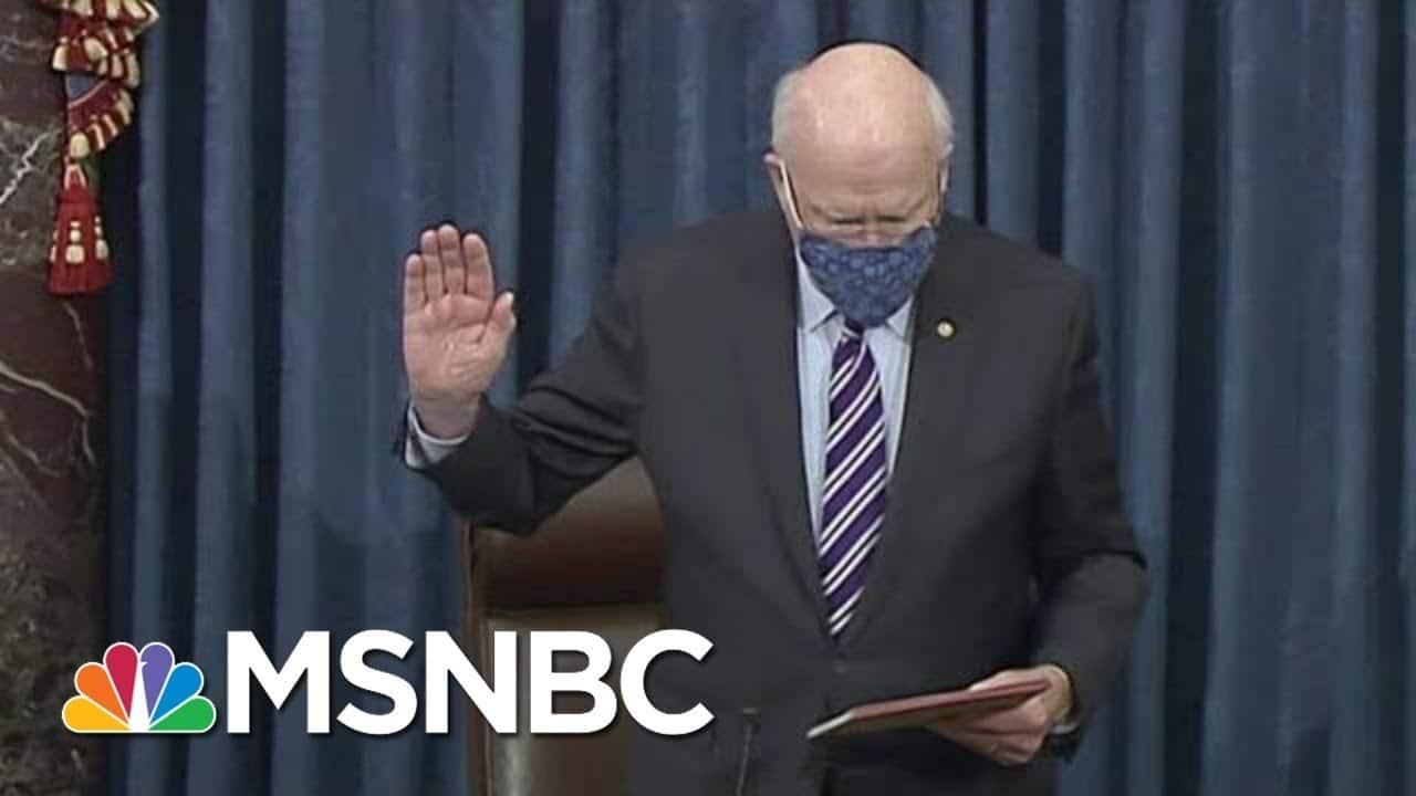 Sen. Leahy Home After Brief Hospital Visit   Morning Joe   MSNBC 5