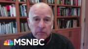 Fmr. CA Gov. Brown: Biden Is 'A Breath Of Fresh Air' For Climate Policy | Andrea Mitchell | MSNBC 4