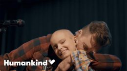 Andy Grammer duets with fan with brain cancer   Humankind 9