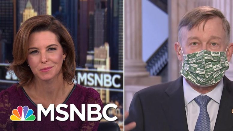 Sen. Hickenlooper: 'We Don't Have Time For This Craziness' | Stephanie Ruhle | MSNBC 1