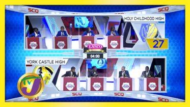 Holy Childhood vs York Castle High: TVJ SCQ 2021 - January 26 2021 6