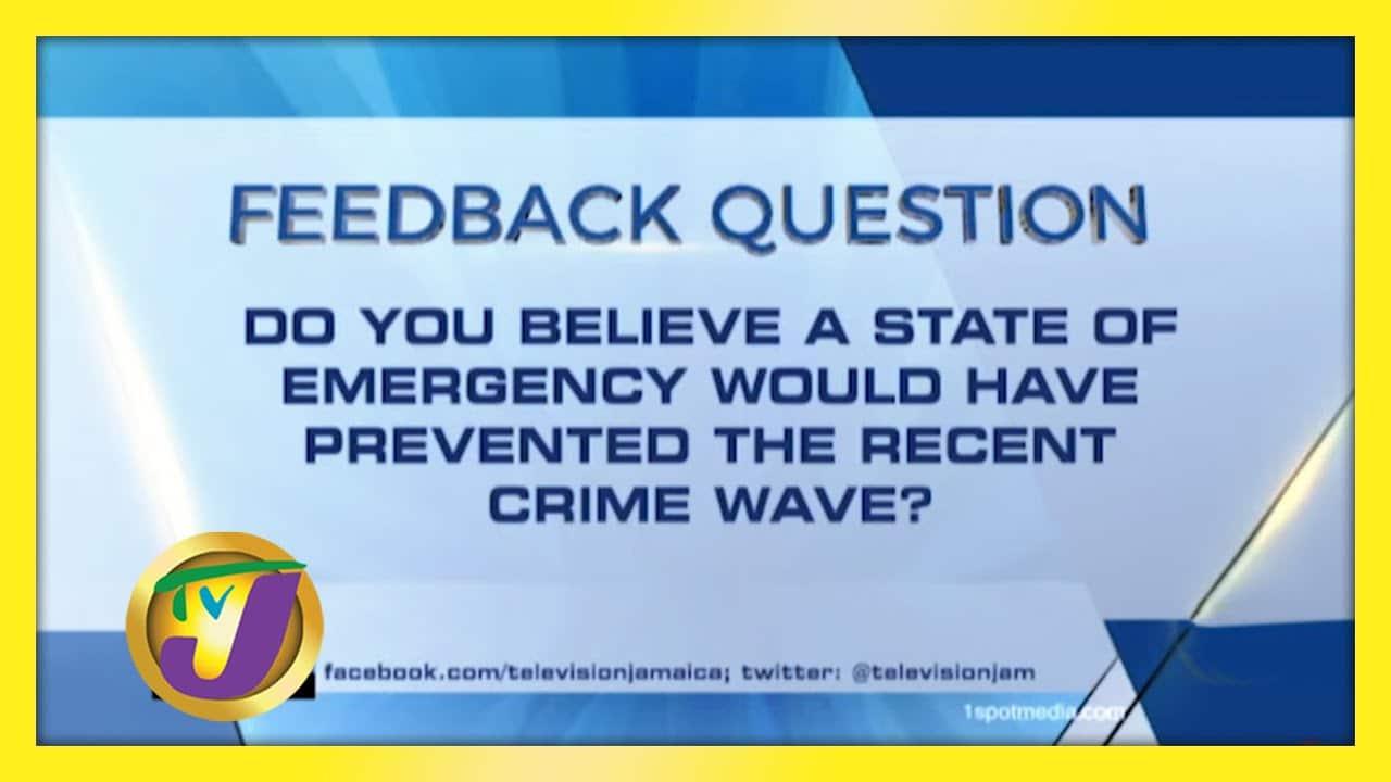 TVJ News: Feedback Question - January 26 2021 1