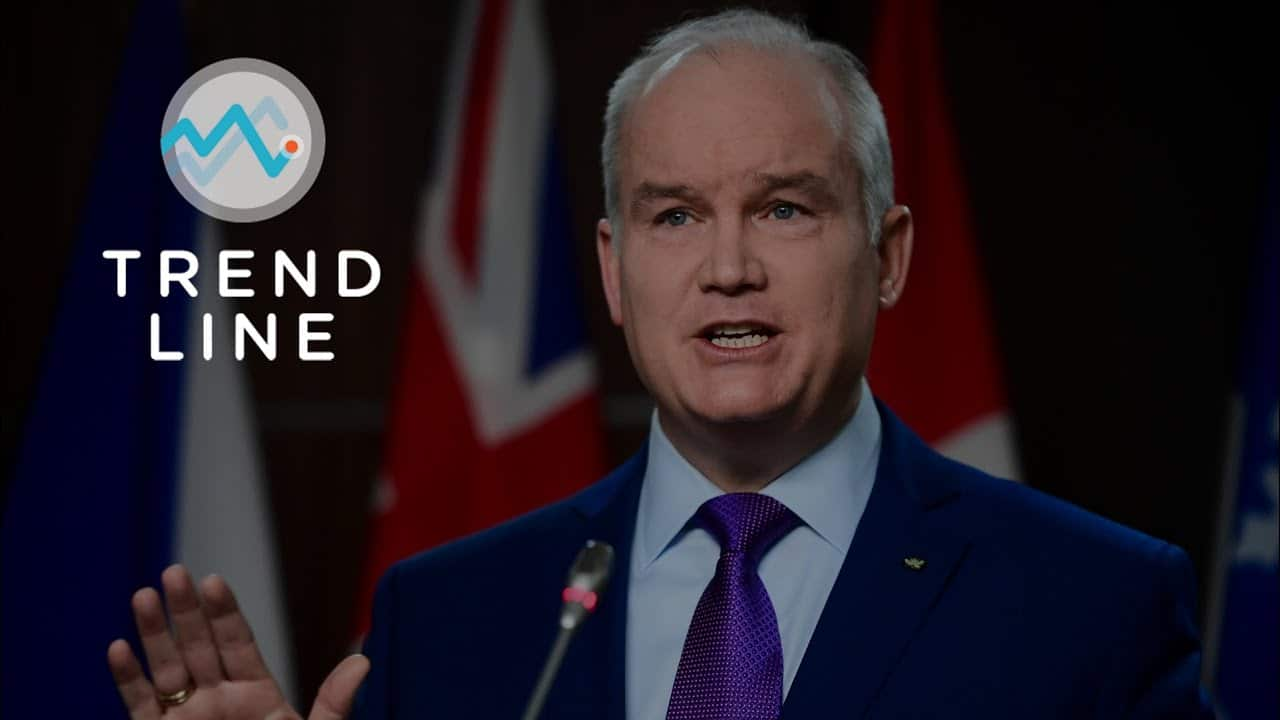 O'Toole's popularity has risen after removing Sloan from the Conservative Party | TREND LINE 6