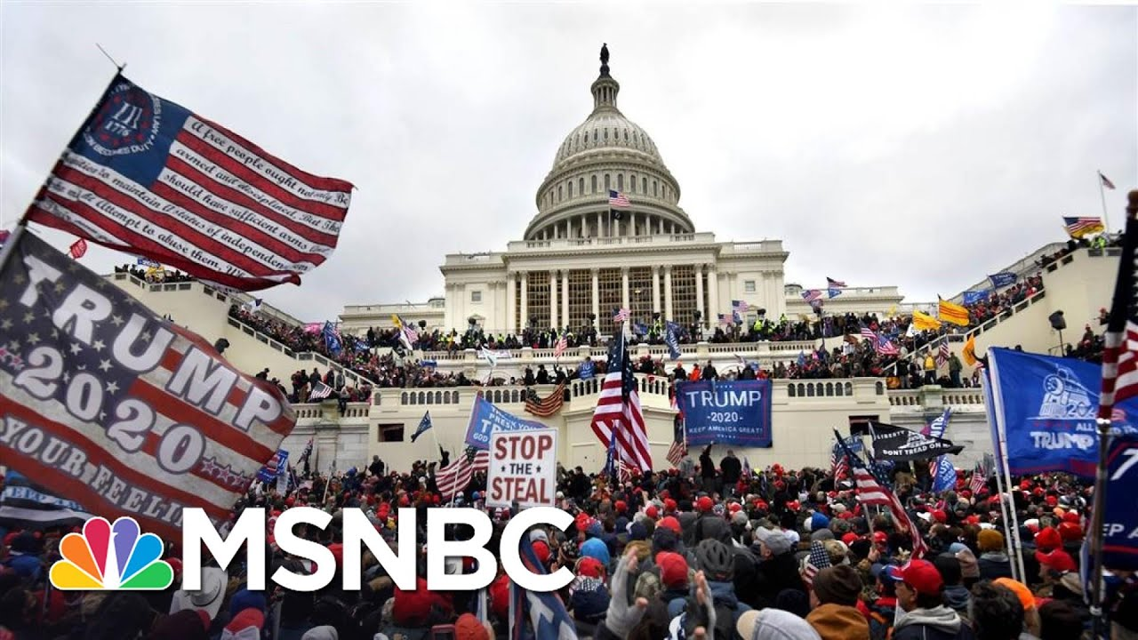 Feds: Capitol Hill Riot Is Emboldening Homegrown Extremists   The 11th Hour   MSNBC 1