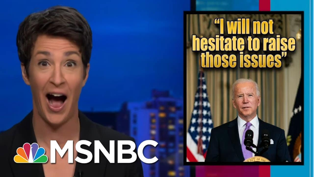 Biden Admin Re-Engages Government With Public, Press After Trump Disconnect | Rachel Maddow | MSNBC 3