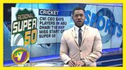 T10 League Players May miss Games in Super 50 - January 27 2021 3