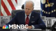 Biden Ends Trump Abortion Policy And Pushes Covid Aid On Cap Hill   The 11th Hour   MSNBC 5