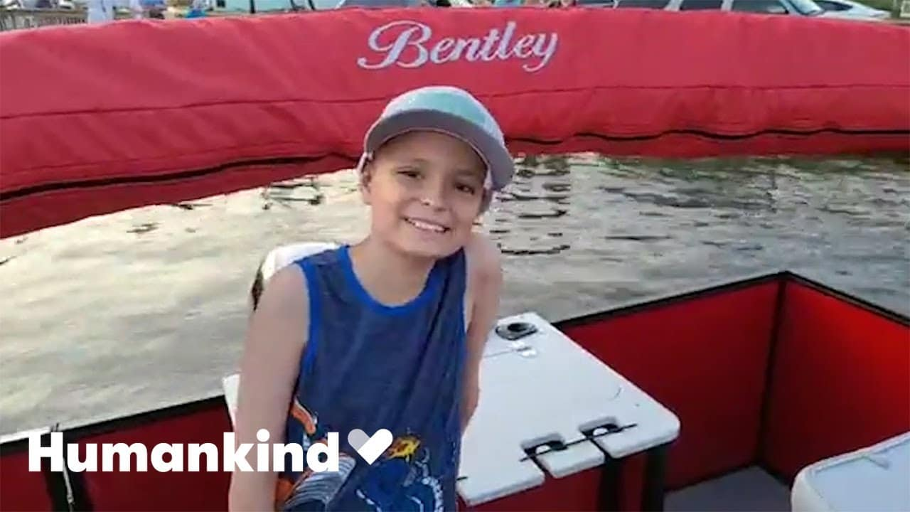 Money pours in to grant wish for boy with brain cancer | Humankind 1