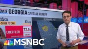 Why Is Warnock Outpolling Fellow Democrat Ossoff In Georgia? Steve Kornacki Takes A Look | MSNBC 5