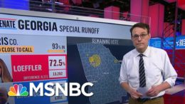 Why Is Warnock Outpolling Fellow Democrat Ossoff In Georgia? Steve Kornacki Takes A Look | MSNBC 9